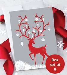 Design with Heart Studio - New - Reindeer With Ornaments Box Set