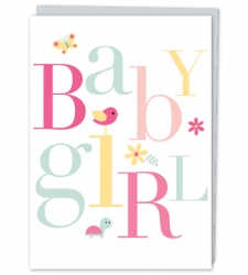 Design with Heart Studio - Greeting Cards Baby Girl