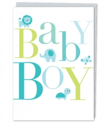 Design with Heart Studio - Greeting Cards Baby Boy