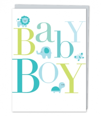 Design with Heart Studio - Greeting Cards - Baby Boy