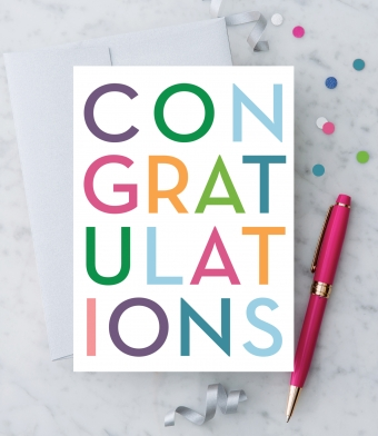 Design with Heart Studio - Greeting Cards - Congratulations