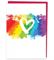 Design with Heart Studio - New - Brush Rainbow Heart