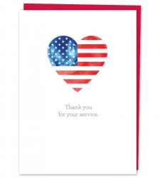 Design with Heart Studio - New - Thank you for your service.
