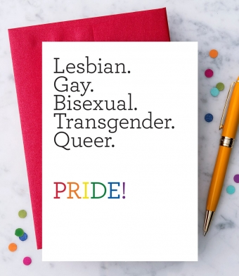 Design with Heart Studio - Greeting Cards - LGBTQ PRIDE