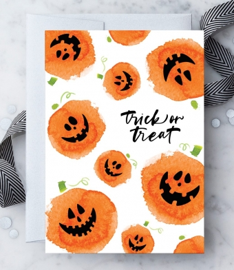 Design with Heart Studio - Greeting Cards - Trick Or Treat