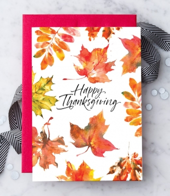 Design with Heart Studio - Greeting Cards - Happy Thanksgiving