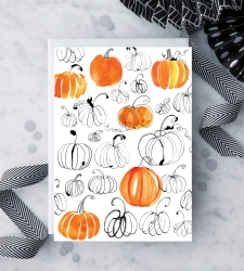 Design with Heart Studio - New - Watercolor Pumpkins