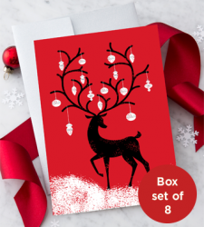 Design with Heart Studio - New - Winter Deer Box Set