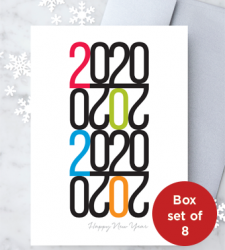 Design with Heart Studio - New - 2020 Happy New Year Box Set