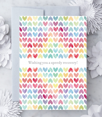 Design with Heart Studio - Greeting Cards - Wishing you a speedy recovery