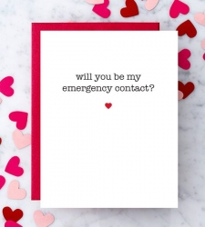 Design with Heart Studio - New - Will You Be My Emergency Contact?
