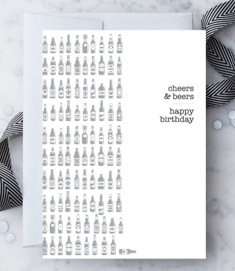 "Design with Heart Studio - Greeting Cards - ""Cheers & Beers"""