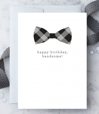 """Design with Heart Studio - Greeting Cards - """"Happy Birthday, Handsome!"""""""