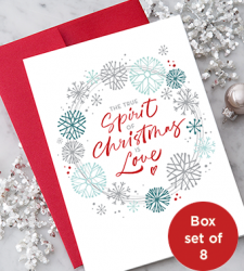 Design with Heart Studio - Holiday - The True Spirit of Christmas is Love!