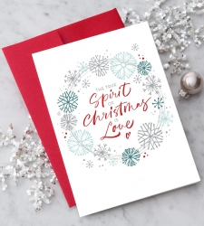 Design with Heart Studio - Holiday - NEW! The True Spirit of Christmas is Love
