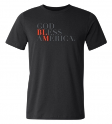 Design with Heart Studio - Apparel God Bless America Tee Shirt