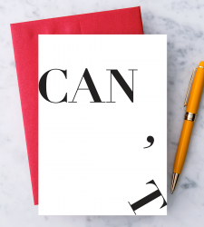 "Design with Heart Studio - New - ""Can't / Can."""