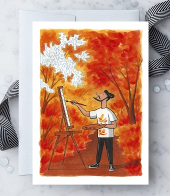 Design with Heart Studio - Greeting Cards - Autumn Masterpiece