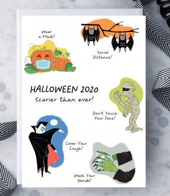 Design with Heart Studio - Greeting Cards - Halloween 2020 – Scarier than ever!