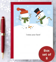 Design with Heart Studio - Holiday - I Miss Your Face – Box Set