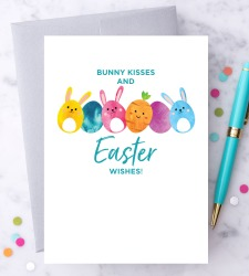 Design with Heart Studio - New - Bunny Kisses & Easter Wishes!