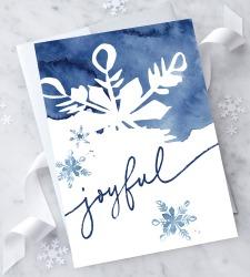 Design with Heart Studio - New - Joyful – Christmas Card