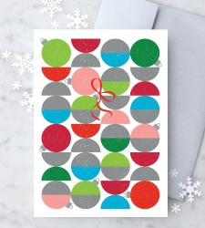 Design with Heart Studio - New - Mid-Century Modern Christmas Ornaments