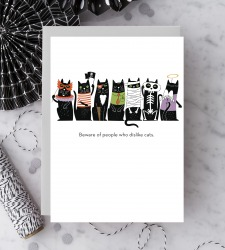 Design with Heart Studio - New - Beware of people who dislike cats