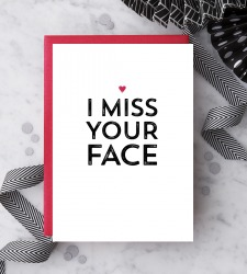 Design with Heart Studio - New - I Miss your Face